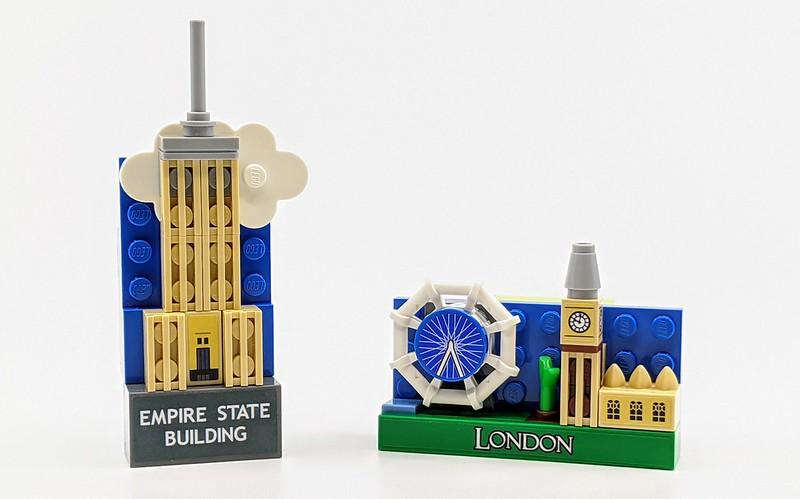 LEGO Landmark Magnets