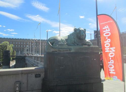 Lion Statue, Stockholm