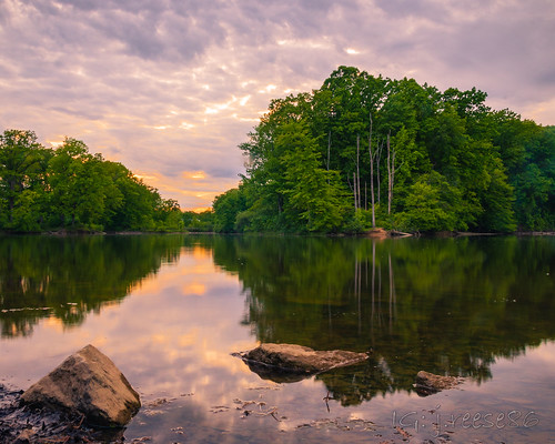 brunswicklake hdr sunset lake brunswick ohio longexposure