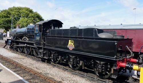 7822 'British Railways' 'Foxcote Manor'. GWR 7800 class /2 on Dennis Basford's railsroadsrunways.blogspot.co.uk'