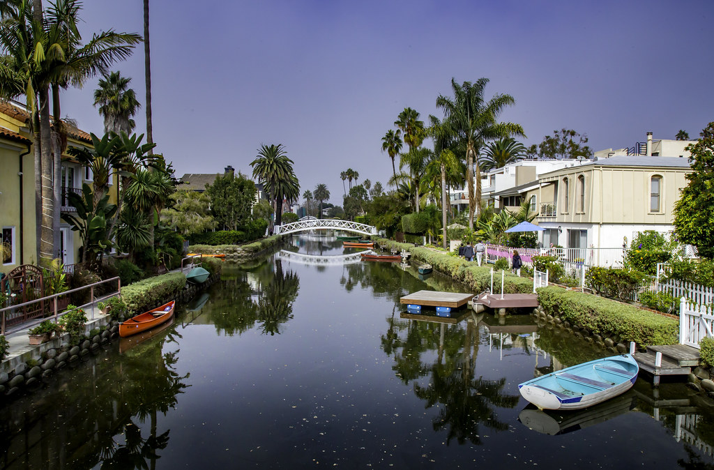 The Canals of Venice...California