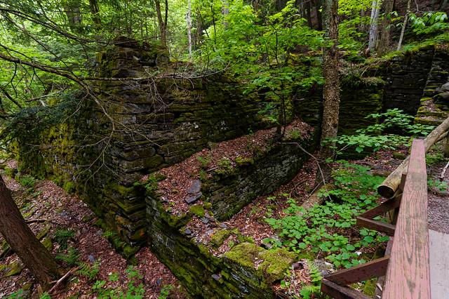 Huyck Felt Mill Ruins