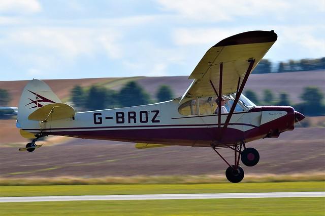 PA-18-15 Piper Super Cub Aircraft now has a C/R G-BROZ