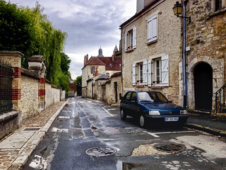 Provins after the rain
