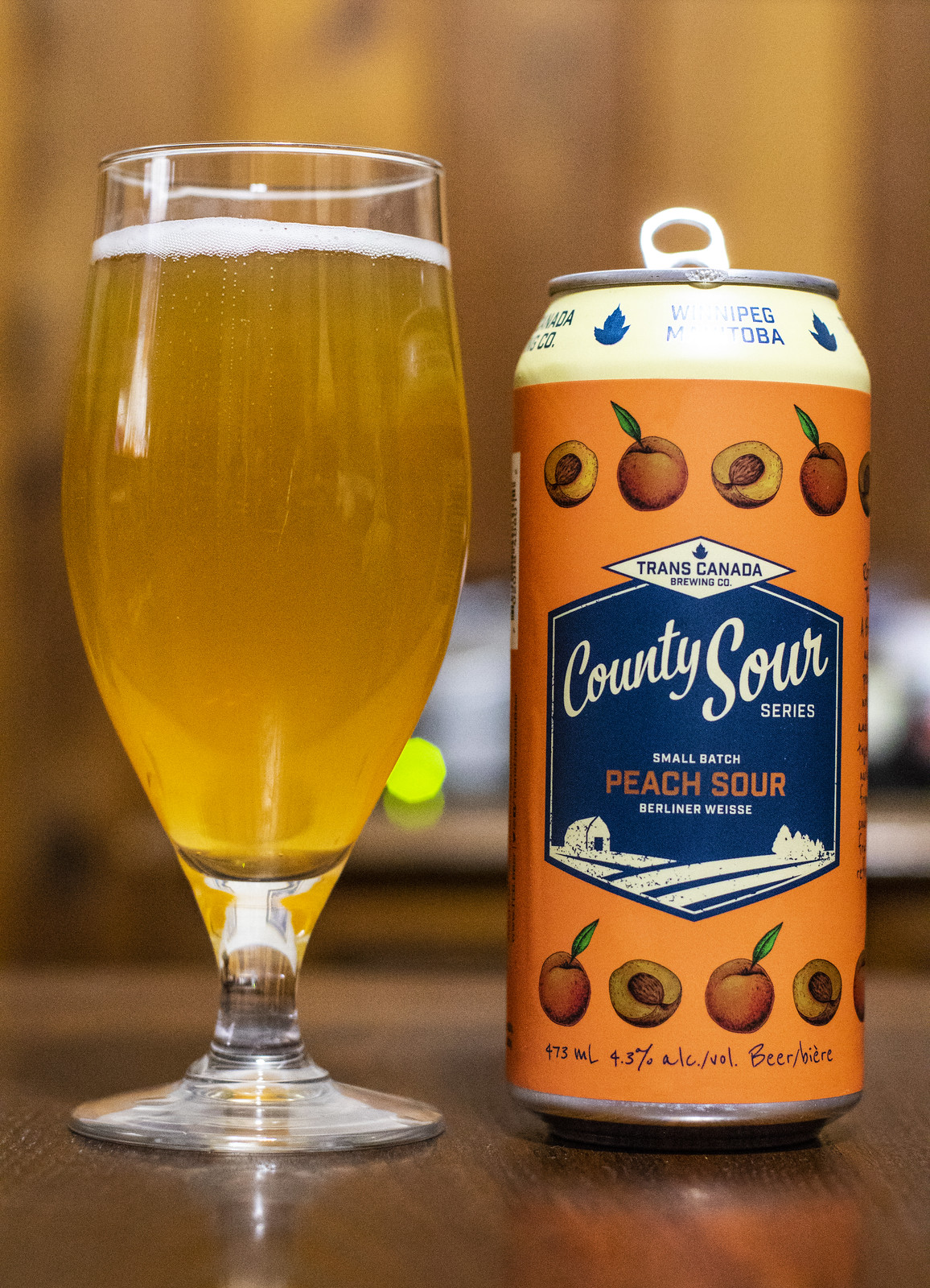 Trans Canada County Sour - Peach Sour Berliner Weisse