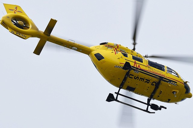Eurocopter EC145 G-RESC East Anglian Air Ambulance Helicopter  G-RESC