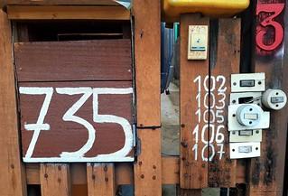 números e interruptores