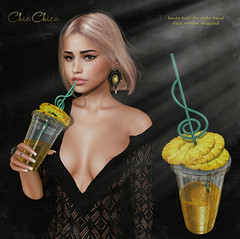 Pineapple drink by ChicChica @ Anthem