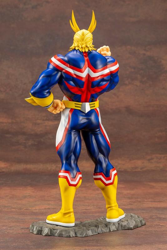 所謂英雄,就是能打破絕境的人!壽屋ARTFX J《我的英雄學院》歐爾麥特  1/8比例塗裝完成品(オールマイト)