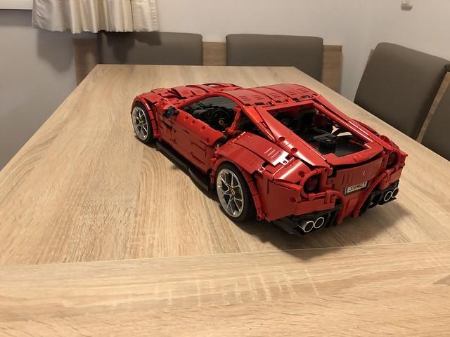 Fankei from Rebrickable recently built the Ferrari F12 👌