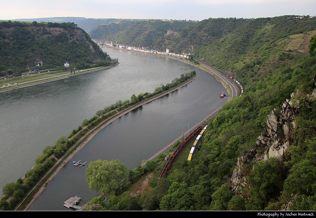 View from Loreley, Sankt Goarshausen, Germany