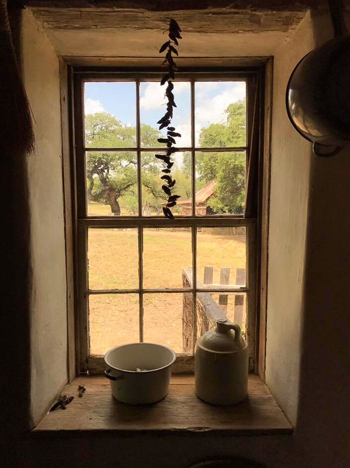 Window, LBJ Ranch, Texas