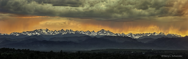 Another Front Range Sunset