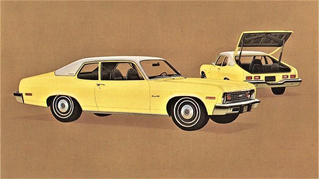 1974 Chevrolet Nova Custom Hatchback Coupe
