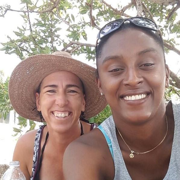 Tachi and Tanya, Providencia, Isla de Colombia