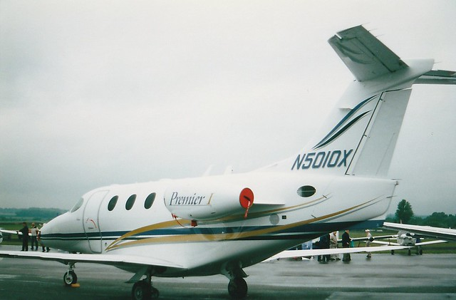 N5010X at North Weald 2003 (scan)