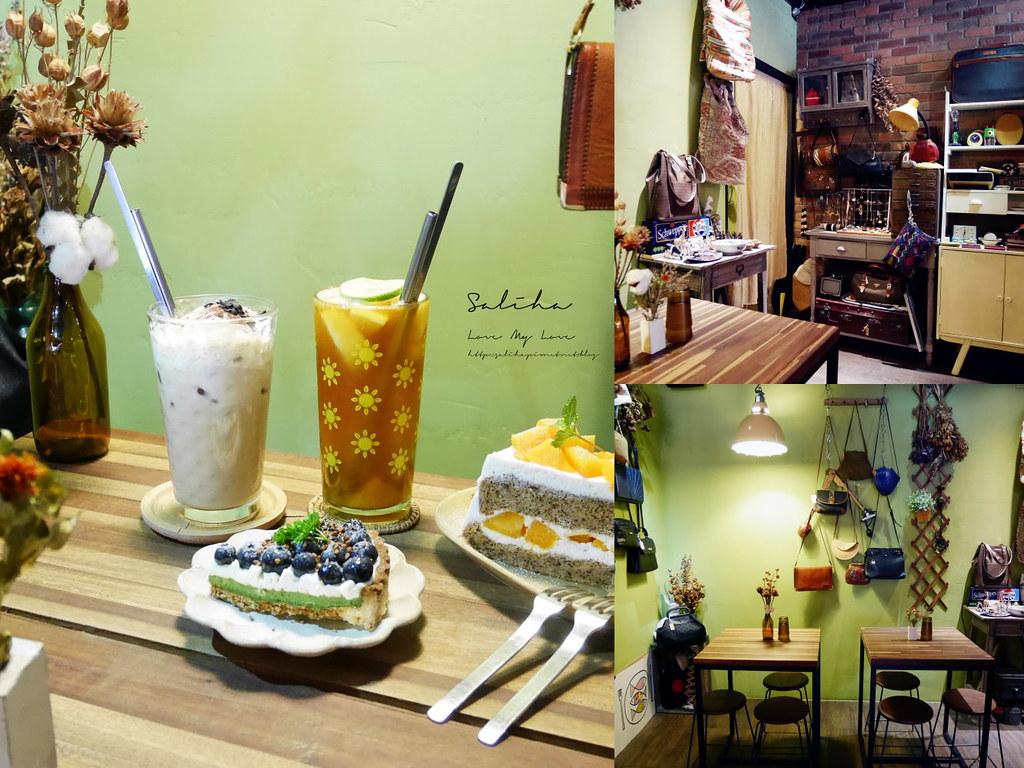 台北可久坐閱讀咖啡廳老薑咖啡好吃蛋糕甜點食記 (2)