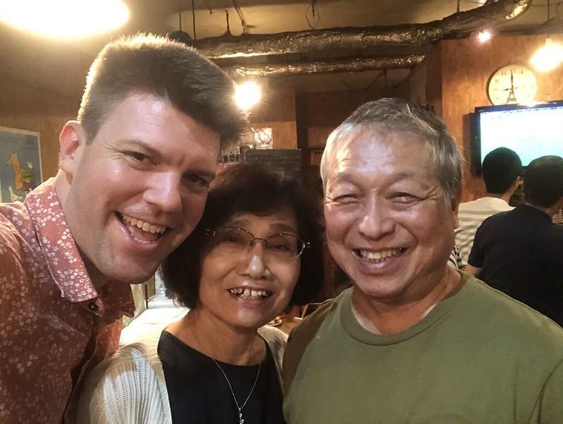 Kyoto Homestay parents (2019)
