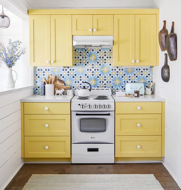 Yellow &Blue Kitchen