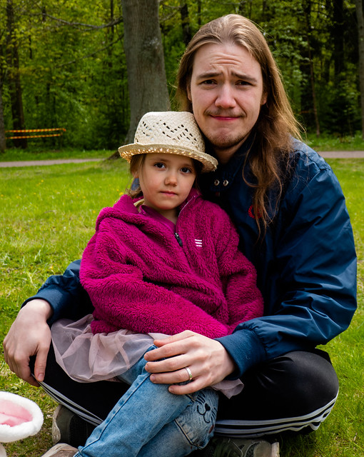 Helli and her father
