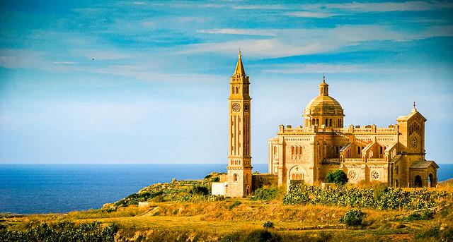 Basilica of the Blessed Virgin Of Ta' Pinu, Gozo, Malta ゴゾ島のタ・ピーヌ聖堂、マルタ (Explored 5 / vi / 20)