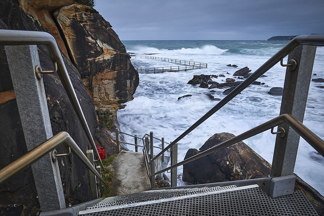 Curl Curl Pool Stairs - Sydney - NSW