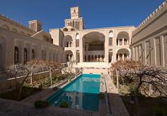 Aghazadeh Silk Road desert palace of Abarkuh, Iran