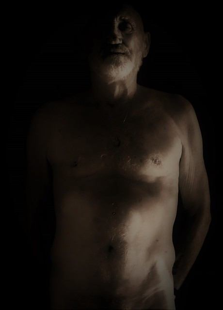 self-portrait- Old Sebastiane-  the arrows are inside