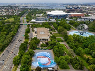 New Mural in Flushing Meadows Park