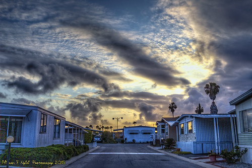 sunset harborcityca sky clouds cloudscape
