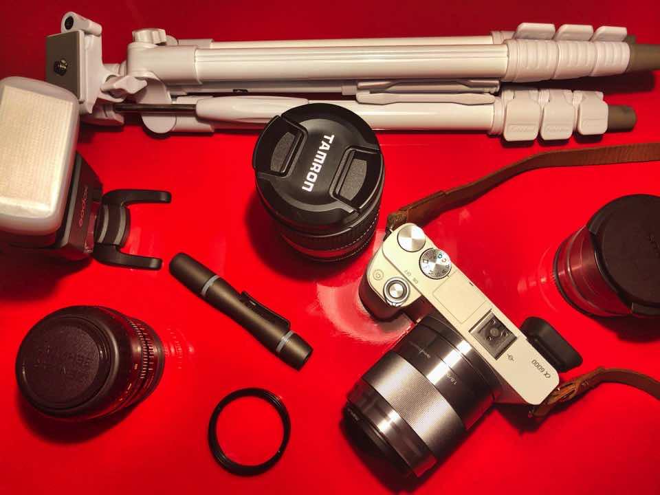 カメラ機材一式