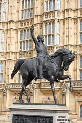 Richard I Coeur de Lion Equestrian Statue