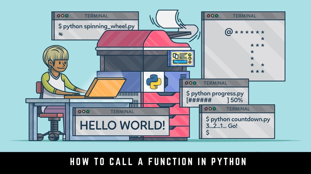 How to call a function in Python