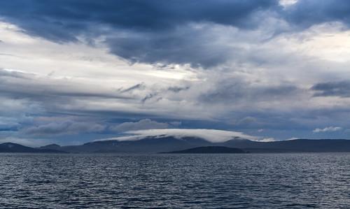 тасмания tasmania пейзаж landscape порт port остров island море океан sea ocean dmilokt закат sunset