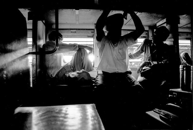 Train trip in India