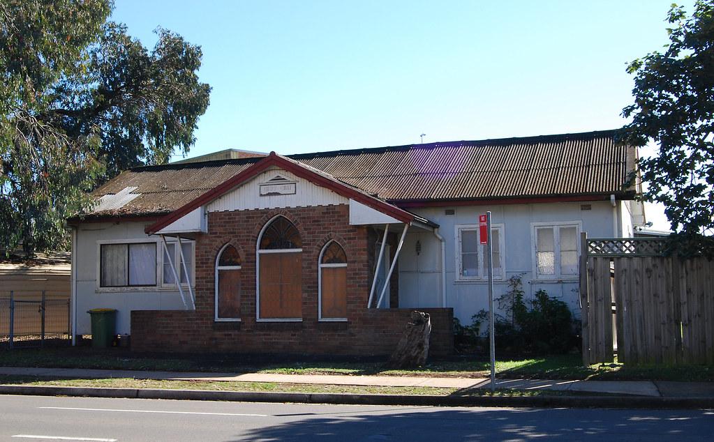 Church of Christ, Fairfield, Sydney, NSW.