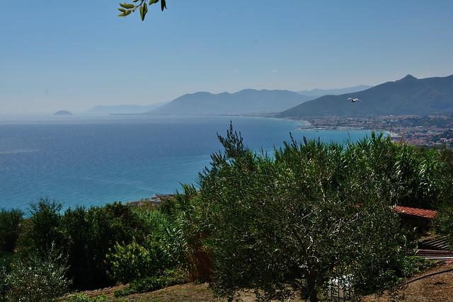 DSC_2941_6079- Veduta della costa da  Borgio - Verezzi. View of the coast from Borgio - Verezzi.