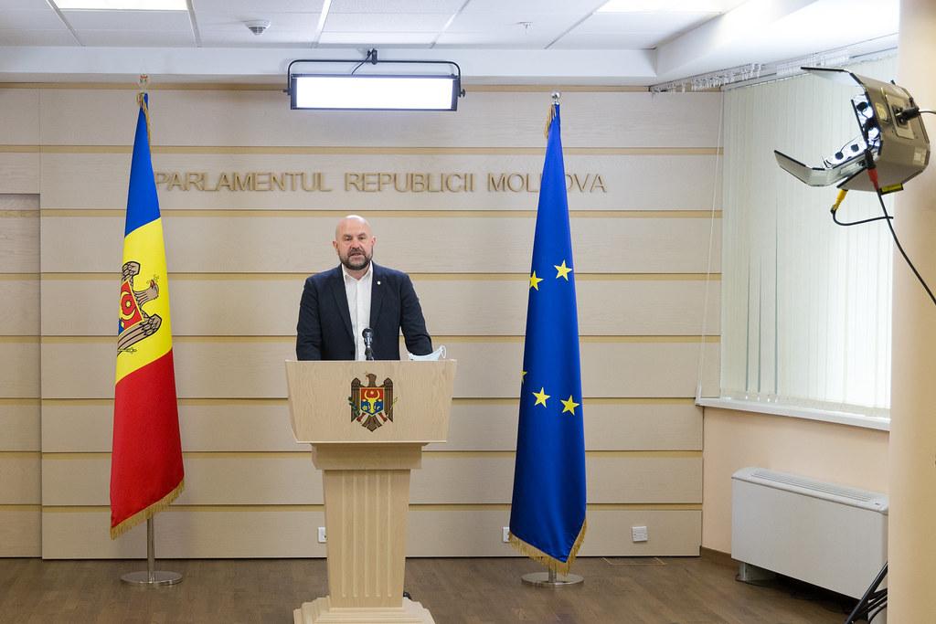 03.06.2020 Conferință de presă a deputatului Vladimir Bolea, fracțiunea Partidul Acțiune și Solidaritate, Blocul ACUM