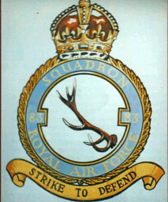 83 Squadron Crest.