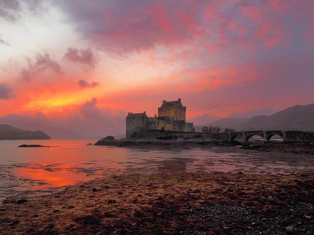 Eilean Donan sunset again, and again...