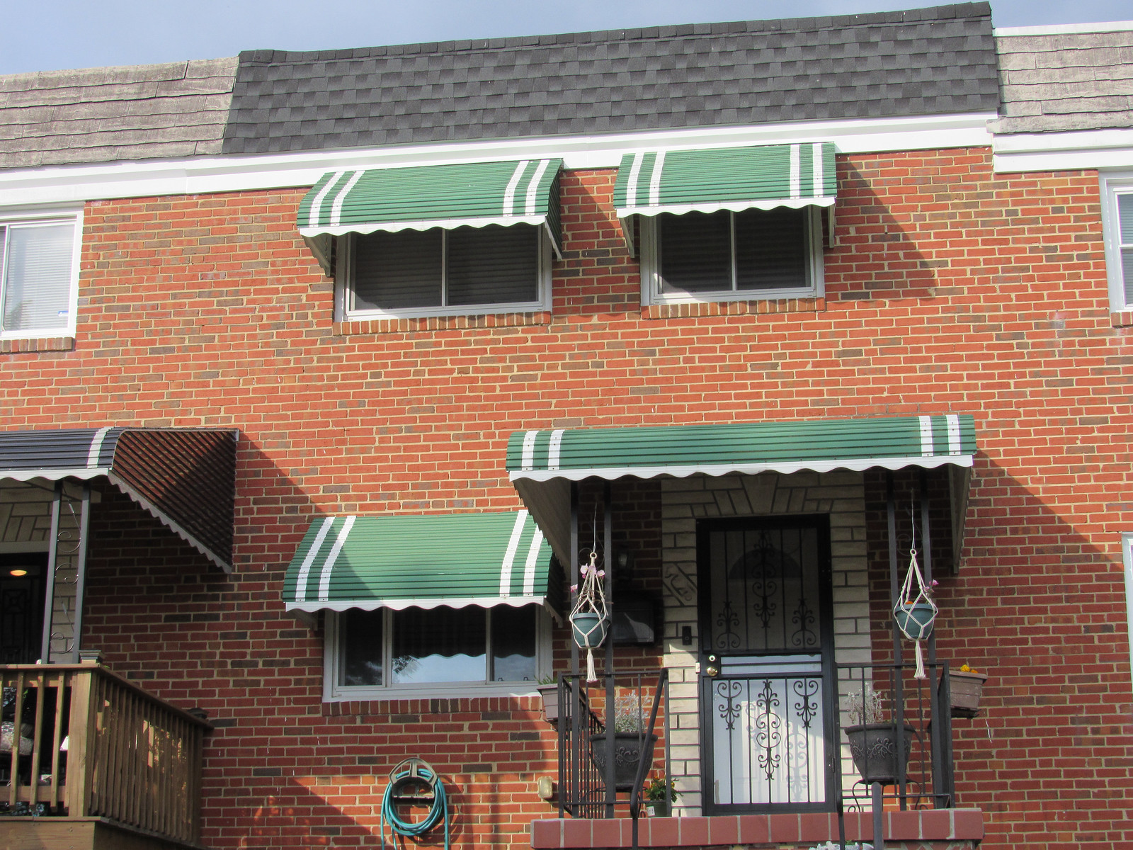 Front Porch Aluminum Awning