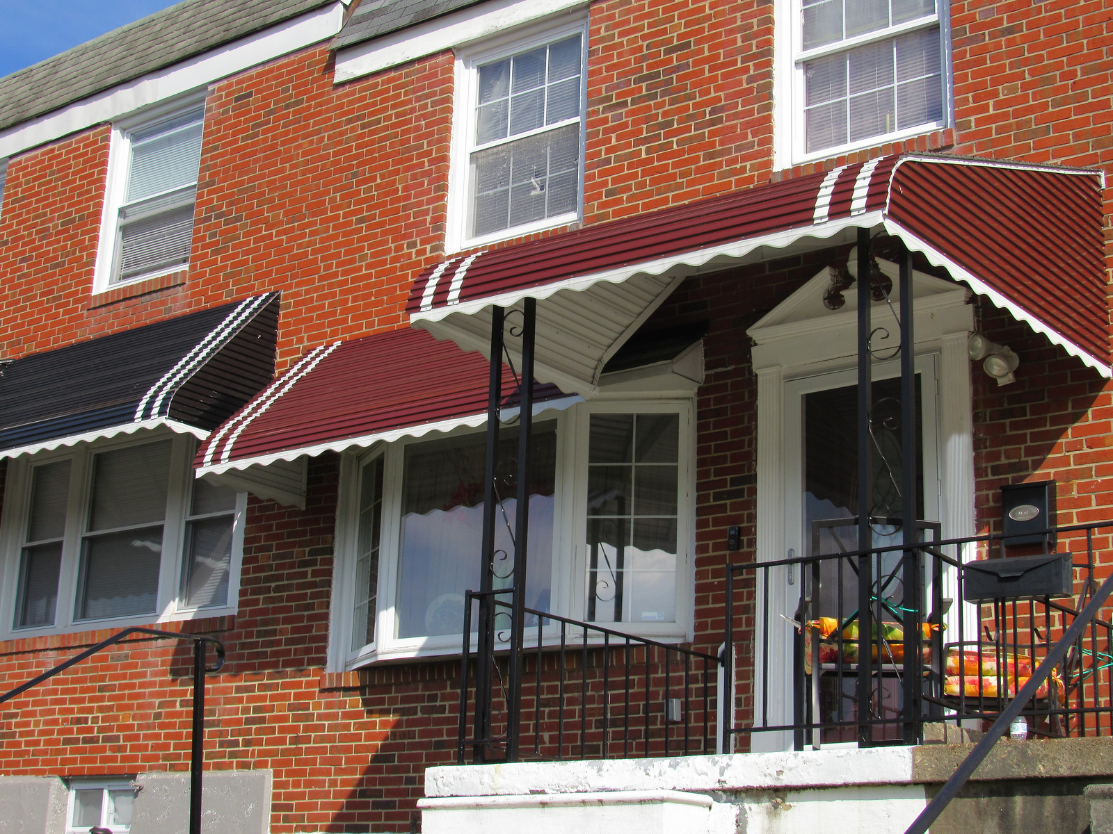 Hoffman Front Porch and Bay Window Aluminum Awning