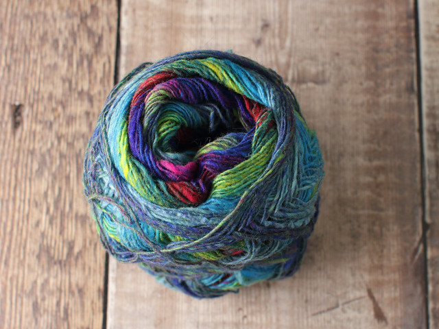 Destash yarn: Noro Kureyon Sock self-striping wool 4 ply / fingering weight yarn 75g – partial ball shade 253