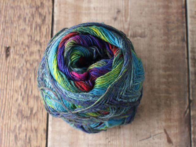 Destash yarn: Noro Kureyon Sock self-striping wool 4 ply / fingering weight yarn 75g – partial ball shade 253