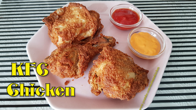 KFC Style Fried Chicken Recipe / Crispy & Spicy Fried Chicken / KFC Chicken Recipe / Shobanas Kitchen