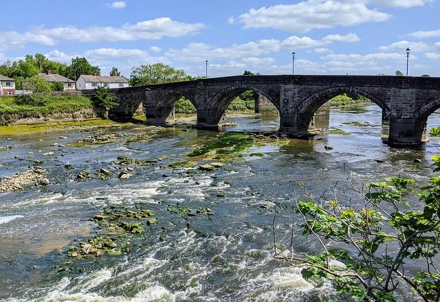 Scenic river at Preston