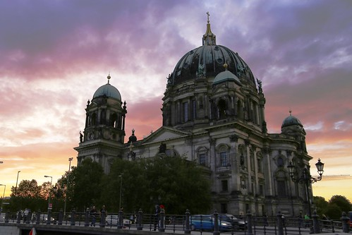 berlin germany alemania canon canoneos eos6d dom iglesia church cathedral catedral sunset atardecer puestadesol
