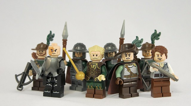 Lord Baron and his Sons