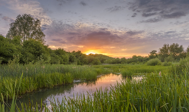 Croft Hill Sunset