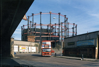 Gasholder, Pancras Rd, Kings Cross, 1990 TQ3083-030